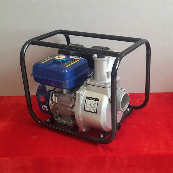 Gasoline water pump supplier with chinese gasoline engine 6.5HP with 3inch for irrigation for light construction machinery