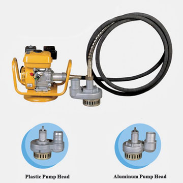 Water pump with Chinese gasoline engine for light construction machinery