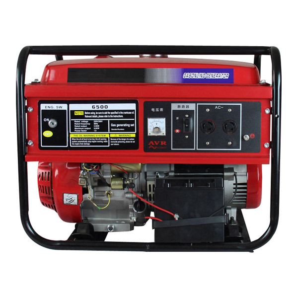 Hahamaster gasoline generator 2800W (HH3800 ) with hahamaster gasoline engine 6.5hp (168F) for light construction machinery