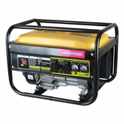 Hahamaster gasoline generator 2300W (HH2500 ) with hahamaster gasoline engine 6.5hp (168F) for light construction machinery