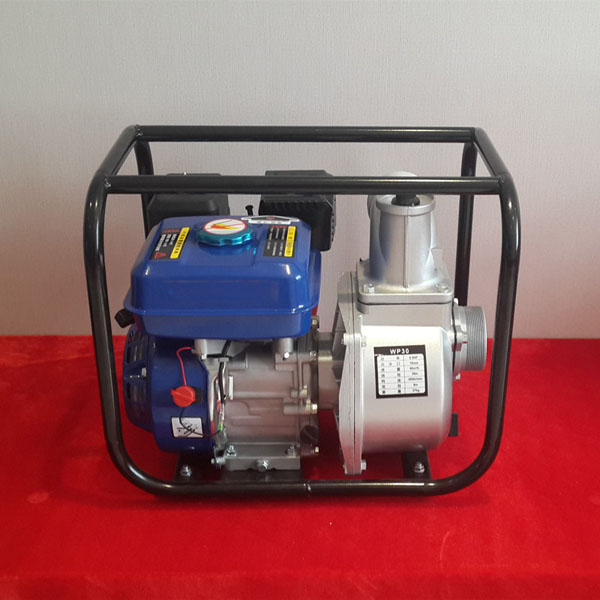 Hahamaster gasoline water pump (HH-WP30) with chinese gasoline engine 6.5HP with 3inch for irrigation for light construction machinery